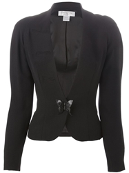 Christian Dior Vintage Butterfly Fitted Jacket