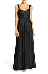 Amsale Women's 'Loire' Sweetheart Neck Sequin Gown