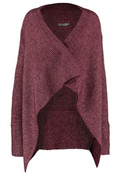 Calvin Klein Jeans Cardigan Brown Bordeaux