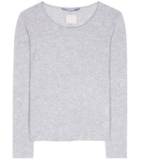 81 Hours Carnabi Cashmere Sweater Grey