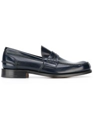 Church's Classic Loafers Blue