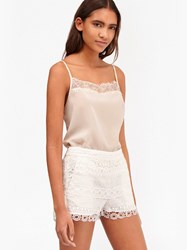 French Connection Cream Polly Cami Top