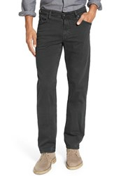 Ag Jeans Men's Big And Tall 'Graduate Sud' Slim Straight Leg Pants Dark Rock