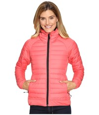 Adidas Hybrid Down Hooded Jacket Super Blush Women's Coat Pink