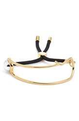 Marc By Marc Jacobs 'Safety Pin' Bracelet Gold