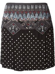 Emilio Pucci Beaded Skirt Black