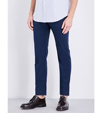 Brioni Meribel Regular Fit Tapered Jeans Sapphire Sapphire