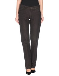 Tru Trussardi Trousers Casual Trousers Women Dark Brown
