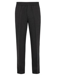 Acne Studios Ryder Elasticated Waist Wool Trousers Grey