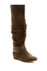 Michael Antonio Caroline Knee High Boot Green