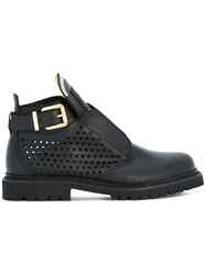 Balmain King Smooth Boots Black
