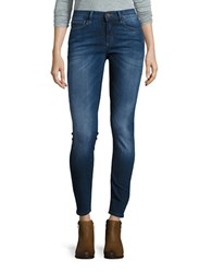 Buffalo David Bitton Mid Rise Ankle Cut Skinny Jeans Kinsey