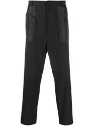 Les Hommes Tailored Reverse Pocket Trousers 60
