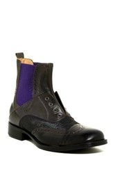 Robert Graham Lex Lace Less Boot Black