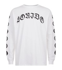 Marcelo Burlon Tattoo Font T Shirt Male White
