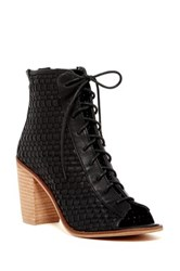 Rebels Yano Lace Up Bootie Black