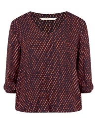 Nougat London Nougat Piper Print Top Red