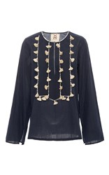Figue Midnight Zita Tassel Tunic Navy