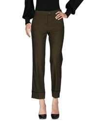 Beatrice B. Beatrice. B Casual Pants Military Green