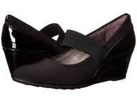 Lifestride Jubilant Black Women's Wedge Shoes
