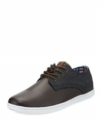 Ben Sherman Presley Leather Oxford Sneaker Multi
