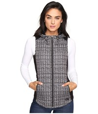 The North Face Ma Thermoball Vest Tnf Black Lace Print Women's Vest Gray