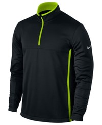 Nike Therma Fit Golf Cover Up Jacket Black Neon Yellow