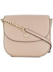 Michael Michael Kors Dome Cross Body Bag Nude And Neutrals
