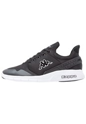 Kappa New York Trainers Black White
