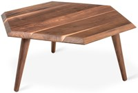 Gus Design Group Metric Coffee Table Solid Walnut Multicolor