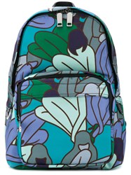Bally Women Print Backpack Women Synthetic Enamel One Size