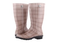 Ugg Shaye Plaid Cream Women's Boots Beige