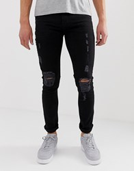 Bolongaro Trevor Black Ripped Jeans