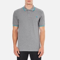 Paul Smith Ps By Men's Regular Fit Polo Shirt Grey