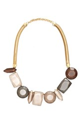 Women's Lafayette 148 New York Mixed Stone Collar Necklace