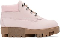 Acne Studios Pink Tinne Hiking Boots