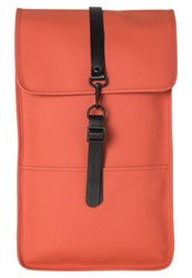 Rains Rucksack Rust Red Metallic