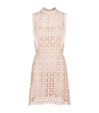 Sandro Manille Lace Dress Female Pink