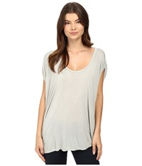 Lamade Catalina Circle Tee Arctic Grey Women's T Shirt Gray