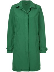 Aspesi Button Down Fitted Coat Green