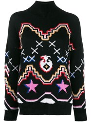 Ermanno Scervino Patterned Jumper Black