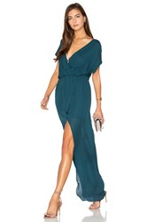 Rory Beca Maid Plaza Gown Teal