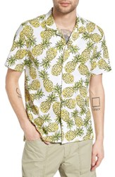 Barney Cools Men's Camp Shirt Pineapple