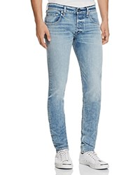 Rag And Bone Standard Issue Fit 1 Super Slim Fit Jeans In Acid Blue
