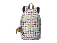 Kipling Challenger Backpack Houndstooth Multi Backpack Bags