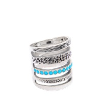Pamela Love Single Cage Turquoise Ring