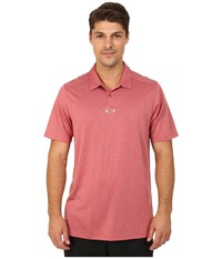 Oakley Adams Polo New Crimson Men's Clothing Red
