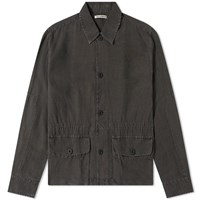 Our Legacy Puff Pocket Shirt Jacket Grey