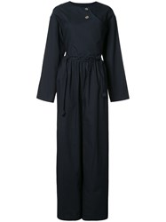 Renli Su Wide Leg Jumpsuit Blue