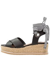 Miss Selfridge Magic Platform Sandals Black